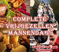 Vrijgezellenfeest mannen Volendam