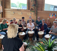 Djembe workshop Volendam