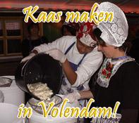 Workshop Kaas maken Volendam
