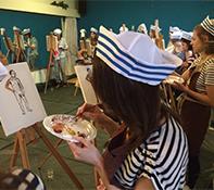 Workshop Naakt schilderen Volendam