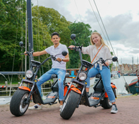 e-scooter huren in volendam