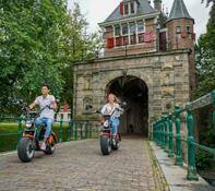 E-Chopper rijden Volendam